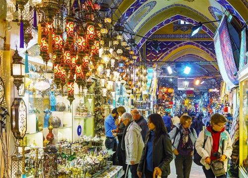 Рынок Гранд-Базар в Турции