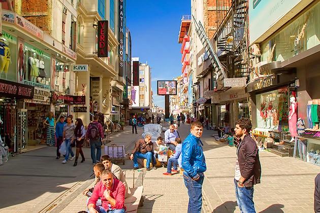 Оптовый рынок Лайли в Турции