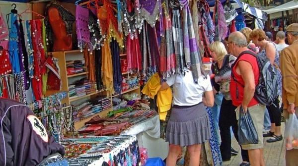 Текстильный рынок в Кемере 2