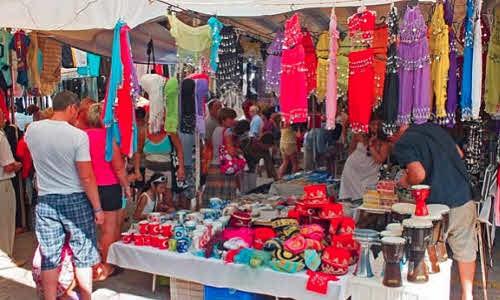 Текстильный рынок в Кемере 3