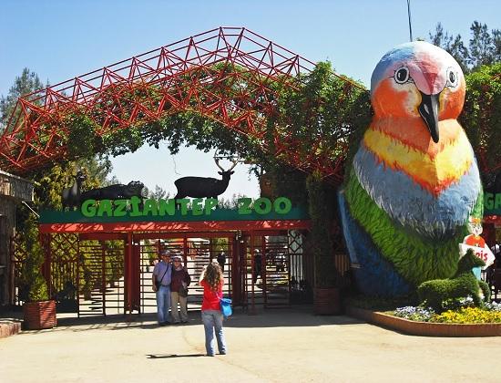 Самый крупный зоопарк в Турции в Газиантеп (Антеп)